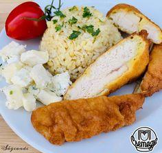 Csirkemell -rizslisztes- sörbundában - sagiandi.hu Chicken, Meat, Food, Bulgur, Essen, Meals, Yemek, Eten, Cubs