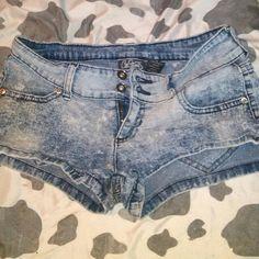City streets shorts Cute shorts worn once Shorts Jean Shorts