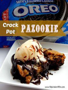 Crock Pot Pazookie