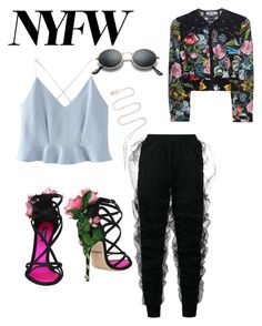 """""""NYFW"""" by avalee-kelley on Polyvore featuring Y/Project, Dolce&Gabbana, WithChic, Charo Ruiz and Anita Ko"""