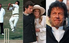 Imran Khan in pictures: from Pakistan cricket captain to politician.