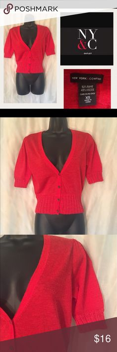 NY & Company XS 🛍 Summer/Spring Cardigan 💄 Adorable cardigan for this time of year, size XS. Condition, Good but slight sighs of wear. I'm always open for a good offer, don't hesitate to ask if it's reasonable. My prices can change daily so grab your favorite items while they last. Please if you are unsure about the size, I will measure and get back to you ASAP. I would like to avoid low ratings because of potential sizing issues, when I will gladly measure for you 😀 If you have any…