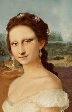 Mona in white Dress