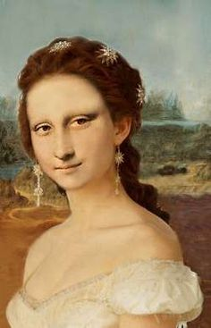 Mona in white Dress  by Patrizia (Germany)