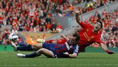Cheating Suarez must be banned #Liverpool