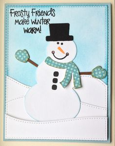 Frosty Friends - Scrapbook.com