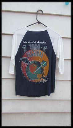 SUPER RARE Worlds greatest funk festival 1979 Parliament Funkadelic Rick James Bootsy Collins Brides of Funkenstein Vintage T shirt