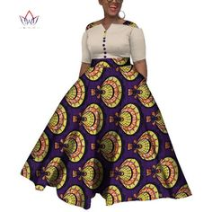 afrikanische hochzeiten Image of 2019 African Dresses For Women Dashiki African Dresses For Women Colorful Daily Wedding Size Ankle-Length Dress African Dresses For Kids, African Prom Dresses, Latest African Fashion Dresses, African Print Fashion, Ankara Fashion, Africa Fashion, African Prints, African Fabric, Short Dresses