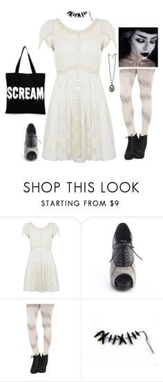 """Halloween Costumes: Bride of Frankenstein"" by daisiesandskulls ❤ liked on Polyvore featuring Miss Selfridge, Roger Vivier, ASOS, Halloween, brideoffrankenstein, frankenstein, Costume and halloweencostume"