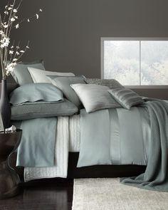 Beautiful bedding by Donna Karan