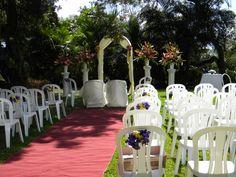 Tropical shades at Mahogany ridge ,Barbados, decor by Sunflower Events