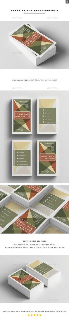 Creative Business Card No.4
