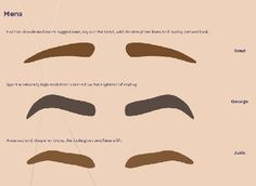 men's eyebrows - Google Search