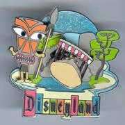 Jungle Cruise - Disneyland Retro 50 Anniversary Collection - pin-on-pin with movement (Release date 10 September 2005)          *