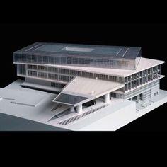 Model : New Acropolis Museum, Athens (2009) | Bernard Tschumi Architects with associate Michael Photiadis Architect