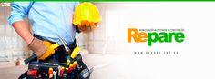 Manutenção, reforma e construção = Repare.   É rápido e barato!