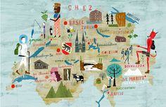 Travel illustrations by Martin Haake - Art and design inspiration from around the world - CreativeRoots