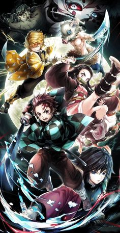 10 Gambar Demon Slayer The Movie Mugen Train 2020 Terbaik Di 2020 Seni Anime Gambar Anime Karakter Animasi