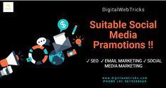 """Our SEO analysts are doing best SEO service for business websites. #Digitlwebtricks is one of the best SEO and Digital Marketing Company in Mumbai, India.#Digitlwebtricks Ads is offering high quality SEO services with guaranteed results""""  Conatct Us- +91.9619308609 Email Us on- digitalwebtricks@gmail.com/ enquiry@digitalwebtricks.com   #digitalwebtricks #socialmediamarketing #socialmedia #seo #business #branding #marketingdigital #contentmarketing #webdesign #digital #motivational Email Marketing, Content Marketing, Social Media Marketing, Digital Marketing, Best Seo Services, Business Website, Business Branding, Mumbai, Motivational"""