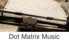 Toccata and Fugue DOT MATRIX PRINTER (Music)