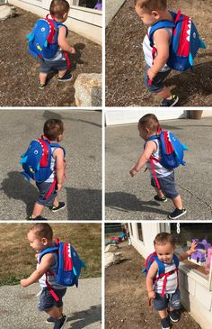 5e29952c2e71  Yodo  Kids  Insulated  Toddler  Backpack with Safety Harness Leash and Name