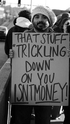 Trickle-Down Economics didn't work then (1930's) ... isn't working now!