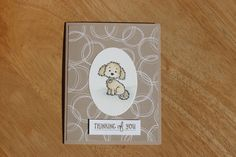 Stampin Up! Bella and friends stamp set, Basket of Wishes set, Serene Scenery DSP, watercoloring