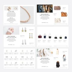Product Catalog Template, Fashion Magazine for Photoshop, Product Display Brochure, INSTANT DOWNLOAD! This template was created for product presentation in the fashion industry, product display, jewelry and many other services.