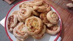 Jalapeño and cream cheese puff rolls