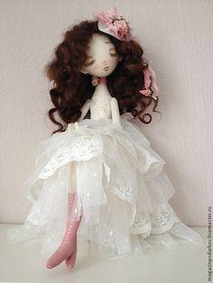 Купить Кукла Тростинка Валери - интерьерная кукла, текстильная кукла, кукла ручной работы