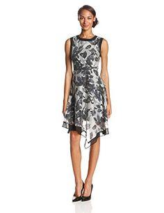 Adrianna Papell Women's Side Drape Chiffon Print Dress, Grey/Ivory, 6 Adrianna Papell http://www.amazon.com/dp/B00J7N2R3E/ref=cm_sw_r_pi_dp_Hkb8tb1Y86RRY