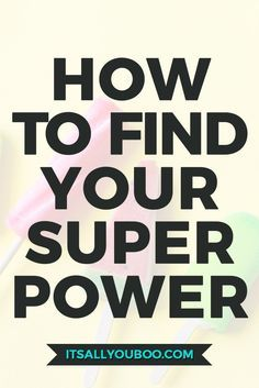 ⚡️  Knowing your Superpower changes everything! Do you know yours? Get your free Superpower Discovery Guide with 20 ways to find what makes you magically unique.