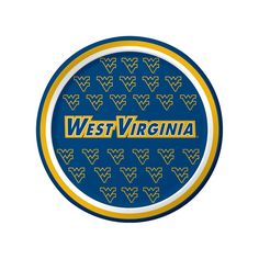 West Virginia Univ 7 inch Round Lunch Plates/Case of 96 Tags: West Virginia University; Lunch Plates; Collegiate; West Virginia University Lunch Plates;West Virginia University party tableware; https://www.ktsupply.com/products/32786324904/West-Virginia-Univ-7-inch-Round-Lunch-PlatesCase-of-96.html