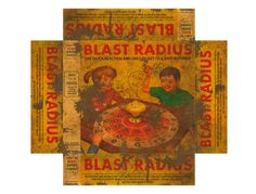 BLAST RADIUS Fictitious board game from Fallout 4 Last picture can be print but…