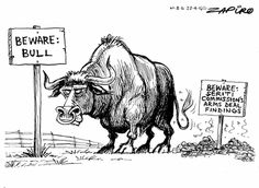 Zapiro: Beware the bull from the arms deal report - Mail & Guardian Arms, Darth Vader, African, Prints, Fictional Characters, Cartoons, South Africa, Image, Cartoon