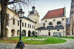 Olomouc, st. Barbara - Archdiocese museum (North Moravia), Czechia