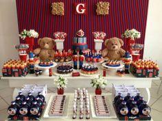 Bruna Tilli festas | festa soldadinho de chumbo e seu ursinho