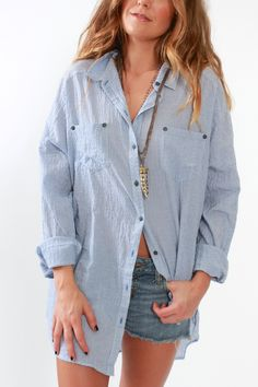 Free People, Love Her Madly Shirt from Viva Diva Boutique