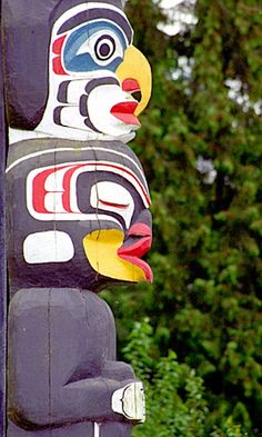 Totem poles, Stanley Park-a favorite place of mine:)