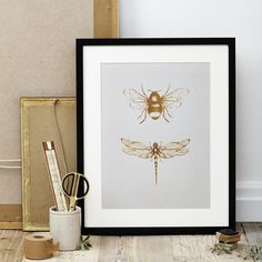 Insect Print - Katie Leamon