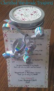 First Year Teacher Gifts   Cherished Handmade Treasures