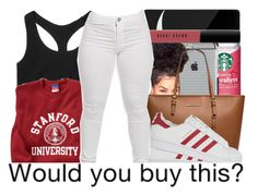 """""""Red ."""" by beautifulme078 ❤ liked on Polyvore featuring Sephora Collection, Case-Mate, MICHAEL Michael Kors, adidas Originals, Victoria's Secret, Bobbi Brown Cosmetics, women's clothing, women's fashion, women and female"""