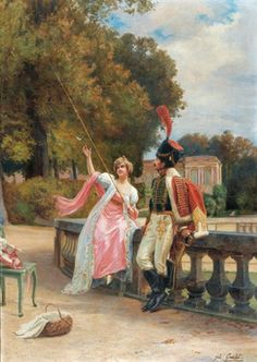 Jules Girardet, cacciatore a cavallo francese della guardia imperiale francese