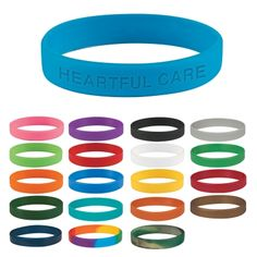 #7900 Single Color Silicone Bracelet