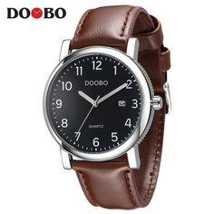 [EBay] Doobo Original Men Quartz Watch Reloj Hombre Leather Business Watches Men Clock Chronograph Army Military Watch Sport For Male