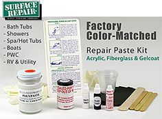 How To Fix My Bath Using The Anglo Acrylic Bath Repair Kit ...
