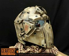 Custom Painted Airsoft helmet. Part of our new range.