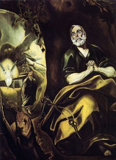 El Greco - The Tears of Saint Peter at Uffizi Gallery Florence Italy | Flickr - Photo Sharing!