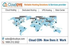 CloudOYE is leading cloud CDN (Content Delivery Network) hosting service provider. Our online Cloud CDN server enhances your website performance across the globe and helps you to improve you revenue. Content Delivery Network, Does It Work, Organizations, Improve Yourself, Clouds, India, Delhi India, Organizing Clutter, Organizers