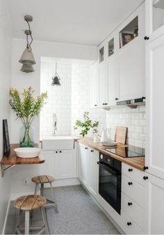 Pomysł na małą kuchnię